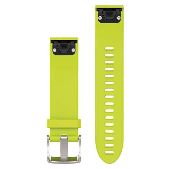 Garmin Fenix 5S QuickFit Silicone Band Amp Yellow 20mm, , rebel_hi-res