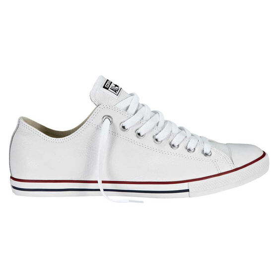 590b07d292cd Converse Chuck Taylor Lean Leather Low Casual Shoes White US 9 ...