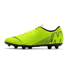 Nike Mercurial Vapor XII Club MG Junior Football Boots Volt / Black US 1, , rebel_hi-res