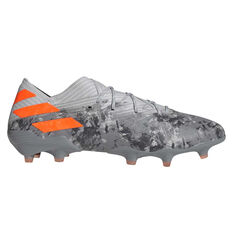 adidas Nemeziz 19.1 Football Boots Grey / Orange, Grey / Orange, rebel_hi-res