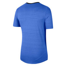 Nike Mens Dri-FIT Miler Tee Blue XS, Blue, rebel_hi-res