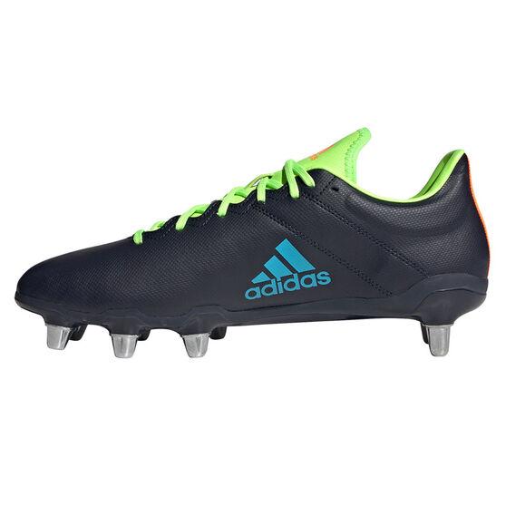 adidas Kakari Rugby Boots, Navy, rebel_hi-res