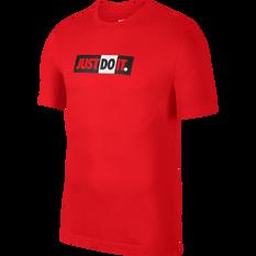 Nike Mens Sportswear JDI Tee Red XS, Red, rebel_hi-res