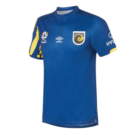 Central Coast Mariners 2019/20 Mens Alternate Jersey, Navy, rebel_hi-res