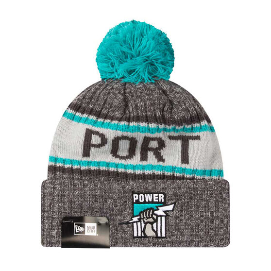 Port Adelaide New Era 6 Dart Cuff Beanie, , rebel_hi-res