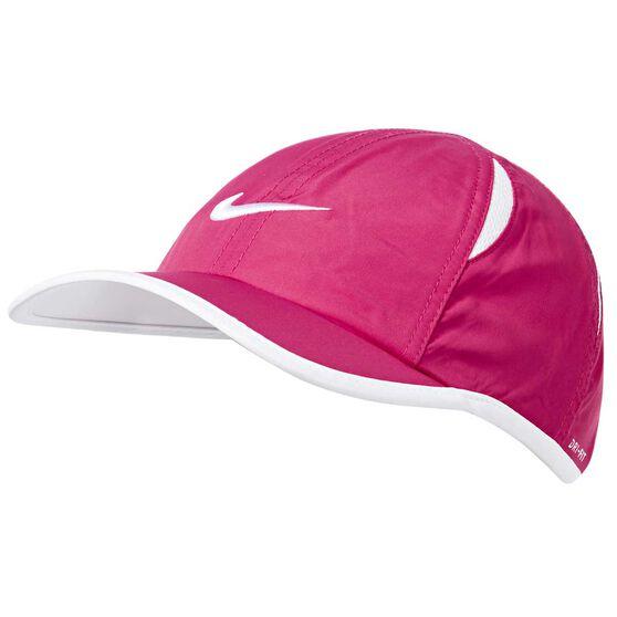 Nike Kids Featherlight Cap Pink / White OSFA, Pink / White, rebel_hi-res
