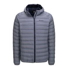 Macpac Mens Uber Light Hooded V2 Jacket Grey S, Grey, rebel_hi-res
