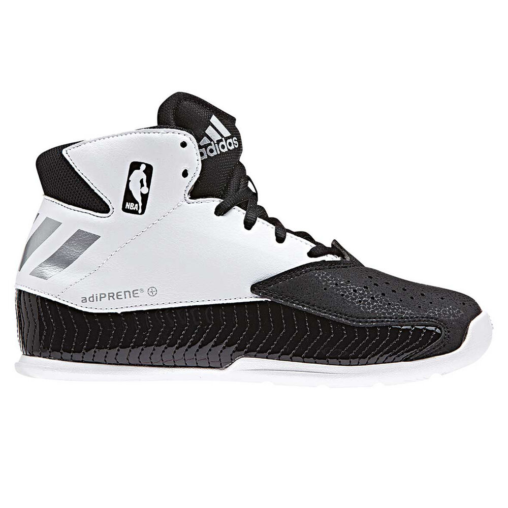 c16d0e3be78 adidas Next Level Speed Boys Basketball Shoes Black   White US 6 ...