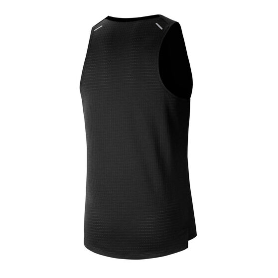 Nike Mens Rise 365 Running Tank, Black, rebel_hi-res