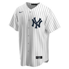 New York Yankees 2020 Mens Home Jersey White S, White, rebel_hi-res