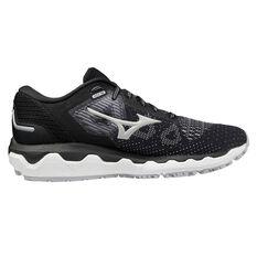 Mizuno Wave Horizon 5 Womens Running Shoes Black/Beige US 6, Black/Beige, rebel_hi-res