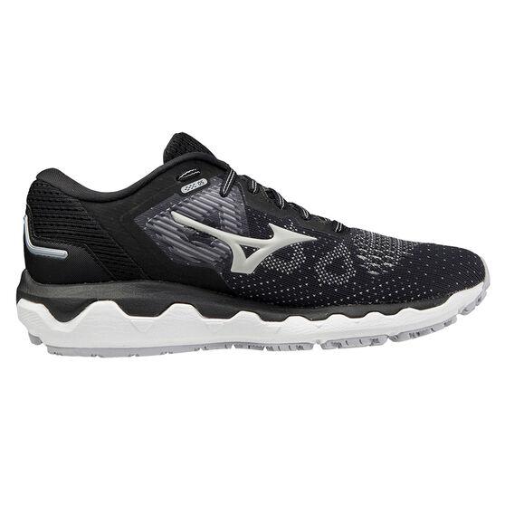 Mizuno Wave Horizon 5 Womens Running Shoes, Black/Beige, rebel_hi-res