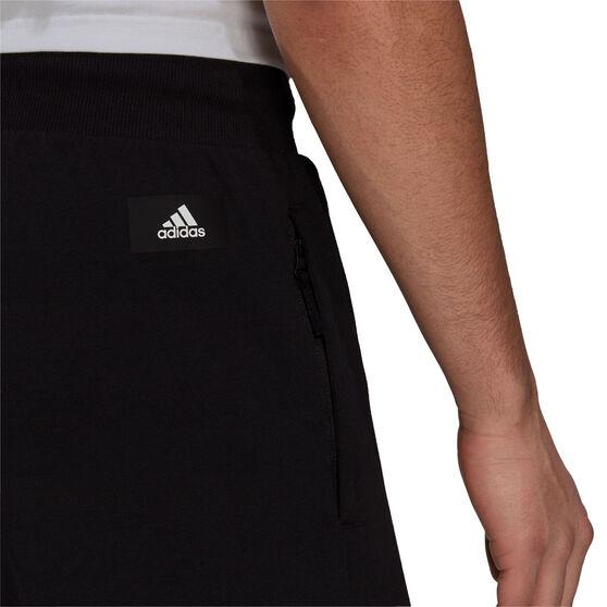 adidas Mens Sportswear Lightweight Shorts, Black, rebel_hi-res