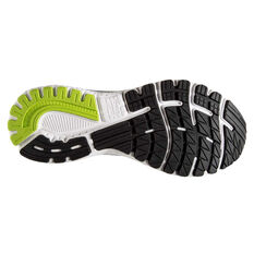 Brooks Adrenaline GTS 20 Mens Running Shoes Black/Lime US 8, Black/Lime, rebel_hi-res