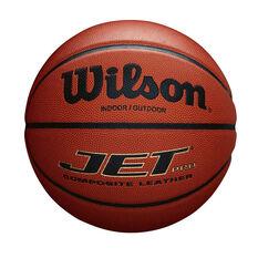 Wilson Jet Pro Basketball Orange 7, Orange, rebel_hi-res
