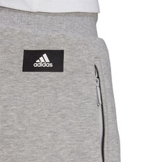 adidas Mens Sportswear Badge of Sport Shorts, Grey, rebel_hi-res