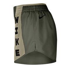 Nike Womens Icon Clash Tempo Lux Running Shorts Marsh XS, Marsh, rebel_hi-res
