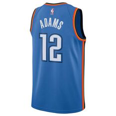 Nike Oklahoma City Thunder Steven Adams 2019 Mens Swingman Jersey Signal Blue S, Signal Blue, rebel_hi-res