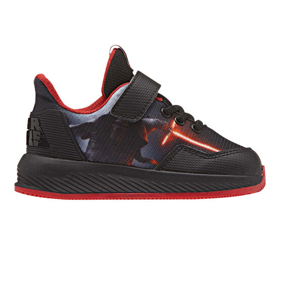 b965772117d adidas Star Wars Toddlers Shoes Black   Red US 4