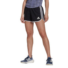 adidas Womens Marathon 20 Primeblue Running Shorts Black XS, Black, rebel_hi-res