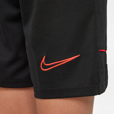 Nike Boys Dri-Fit Academy 21 Soccer Shorts Black XS, Black, rebel_hi-res
