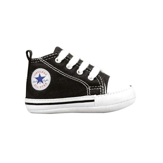 Converse Chuck Taylor First Star Infant Shoes Black US 1  d15e9052b