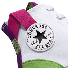 Chuck Taylor All Star CX Colourblocked High Top Mens Casual Shoes, White/Green, rebel_hi-res