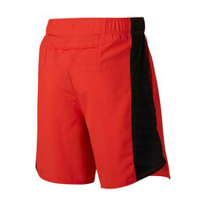 Nike Boys Flex Challenger 6in Training Shorts Red / Black XS, Red / Black, rebel_hi-res