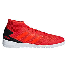 adidas Predator Tango 19.3 Mens Indoor Soccer Shoes Red / Black US 7, Red / Black, rebel_hi-res