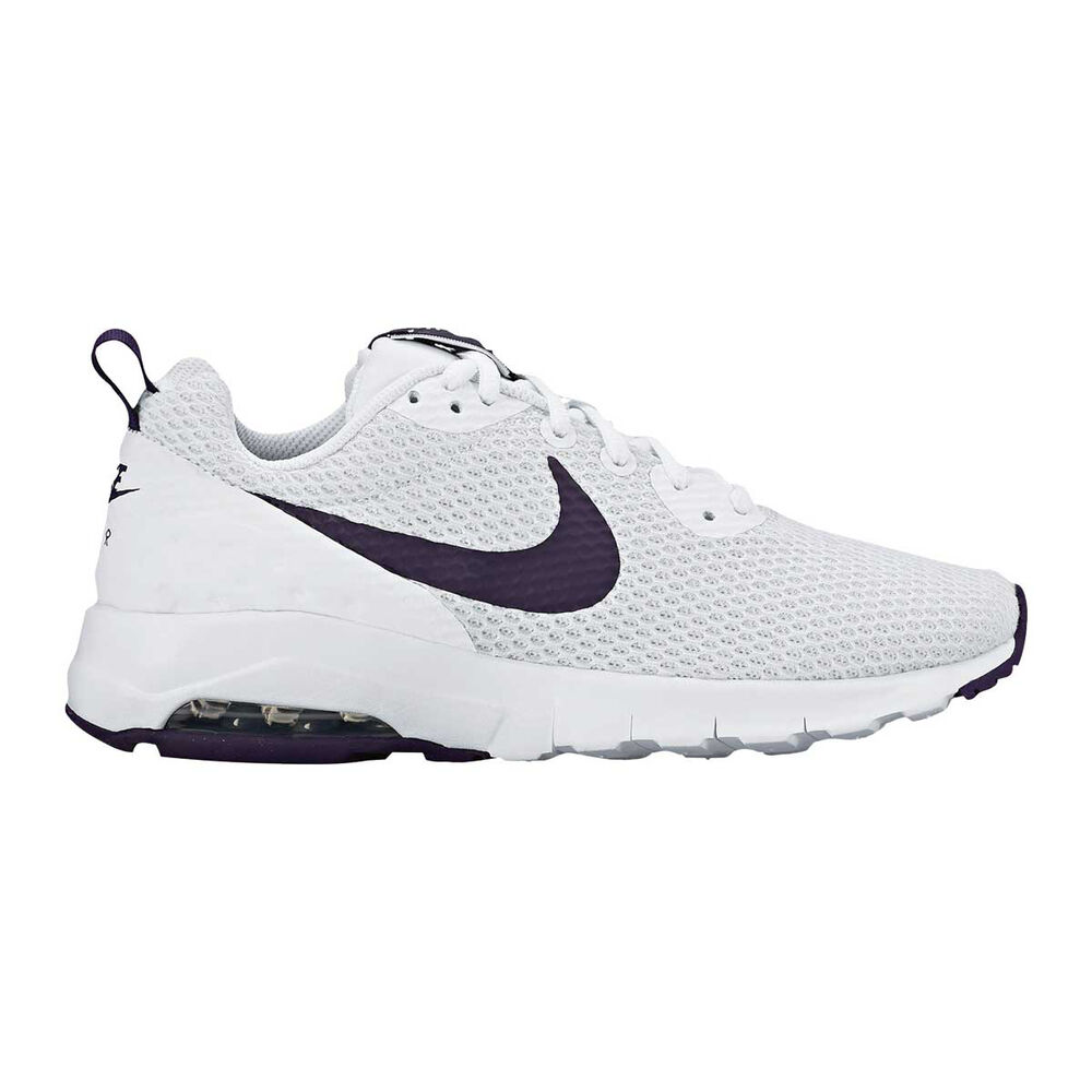 80d4dc2715e Nike Air Max Motion Low Womens Casual Shoes White   Purple US 6 ...