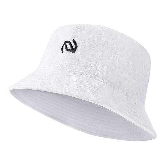 Terrasphere Towelling Cricket Hat, White, rebel_hi-res