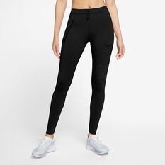 Nike Womens Epic Luxe Run Division Tights Black XS, Black, rebel_hi-res