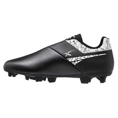 XBlades Jet Max Football Boots Black/White US 7, Black/White, rebel_hi-res