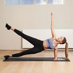 adidas Womens Elevate Yoga Flow 7/8 Tights Black XS, Black, rebel_hi-res