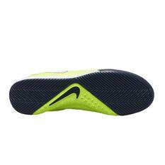 Nike Phantom Vision Academy Dynamic Fit Indoor Soccer Shoes, Green / White, rebel_hi-res