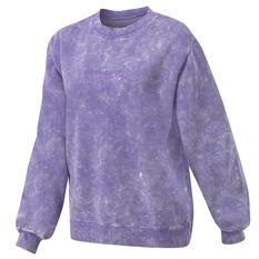 Running Bare Womens Legacy Crew Sweater Purple XS, Purple, rebel_hi-res