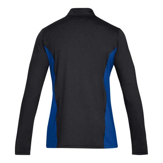 Under Armour Mens Challenger II Long Sleeve Football Top, Black, rebel_hi-res