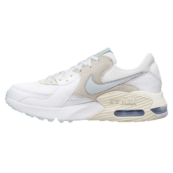 Nike Air Max Excee Womens Casual Shoes, White/Aqua, rebel_hi-res