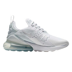 Nike Air Max 270 Kids Casual Shoes White US 4, White, rebel_hi-res