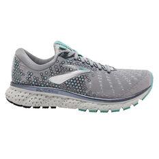 Brooks Glycerin 17 Womens Running Shoes Grey / Teal US 6, Grey / Teal, rebel_hi-res
