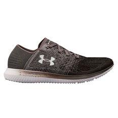 Under Armour Threadborne Blur Mens Running Shoes Grey / Black US 7, Grey / Black, rebel_hi-res