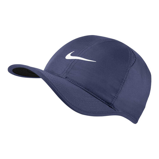 0cb1360087d32 Nike Aerobill Featherlight Cap Blue   Black OSFA