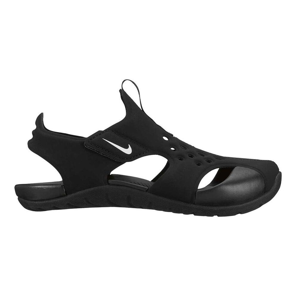 348f9560482 Nike Sunray Protect 2 Junior Kids Sandals Black   White US 12 ...