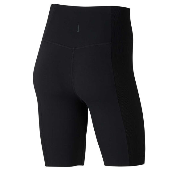 Nike Womens Yoga Infinalon Shorts, Black, rebel_hi-res