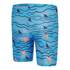 Speedo Boys Leisure Noah Waterboy Swim Shorts Blue 3, Blue, rebel_hi-res