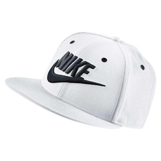 Nike Mens Futura Snapback Cap White OSFA, , rebel_hi-res