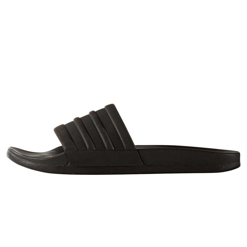 5d447da196661b adidas Adilette Cloadfoam Plus Womens Slides Black US 8