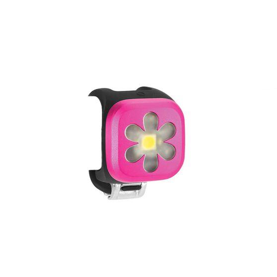 Knog Blinder 1 Flower Front Bike Light Pink, , rebel_hi-res