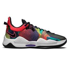 Nike PG 5 Basketball Shoes Multi US 7, Multi, rebel_hi-res