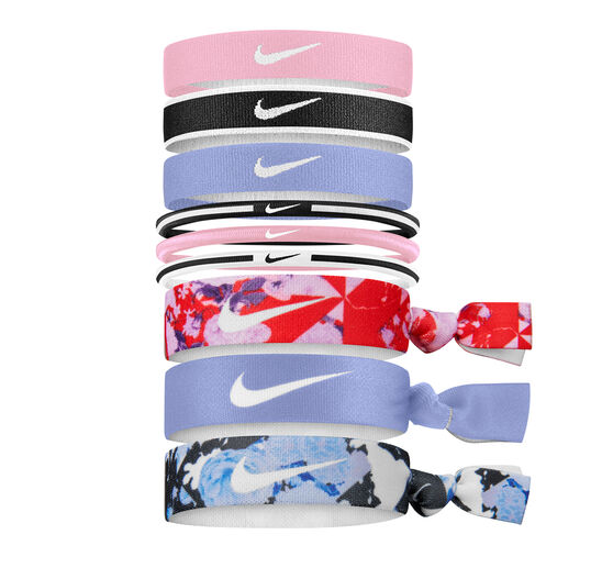 Nike Girls Printed Mixed Ponytail Bands, , rebel_hi-res